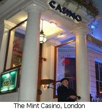 The Mint Casino, London.