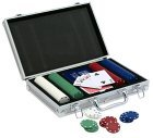 Deluxe Poker Set With Aluminum Case. Buy direct from Amazon.