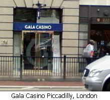 Gala Casino Piccadilly, London.