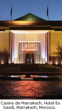 casino de Marrakech and Hotel Es Saadi, Marrakech, Morocco.