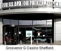 Grosvenor G Casino Sheffield.