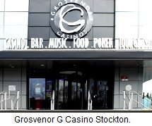 Grosvenor G Casino Stockton, Stockton-on-Tees.