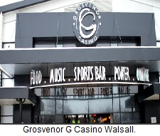 Grosvenor G Casino Walsall.