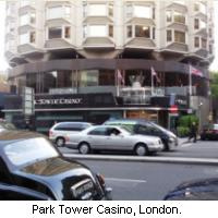 The Park Tower Casino, London, UK.