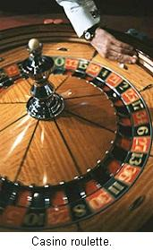 Roulette play.