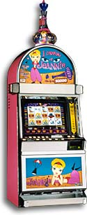 I Dream Of Jeannie slot game.