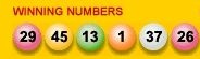Lottery Numbers.