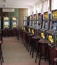 Slots and Video Poker Machines.